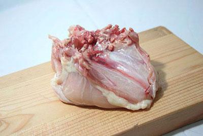 فیله کردن سینه مرغ