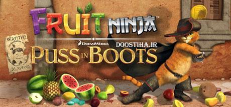 نینجای میوه گربه چکمه پوش Fruit Ninja Puss in Boots