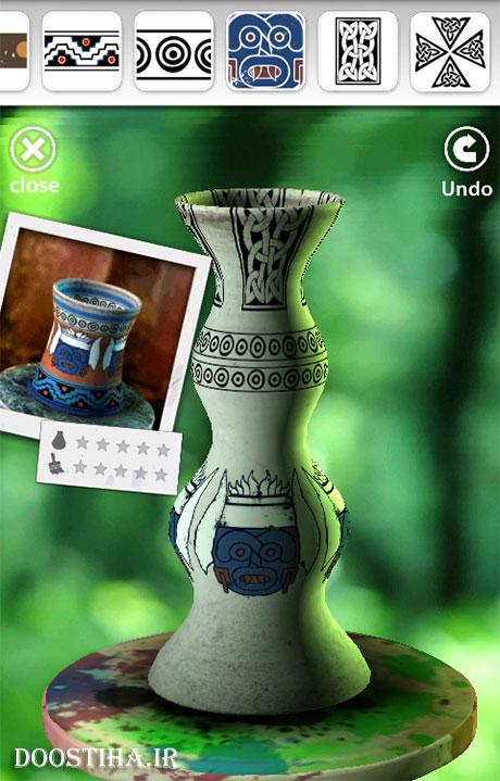 دانلود بازی سفالگری برای اندروید Let's Create! Pottery 1.50