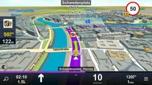 نرم افزار مسیریابی برای اندروید Sygic: GPS Navigation