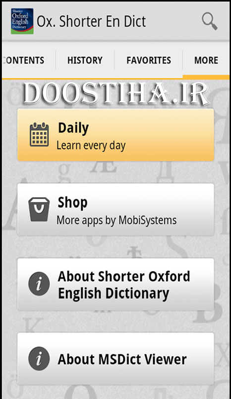 Oxford Shorter English Dict