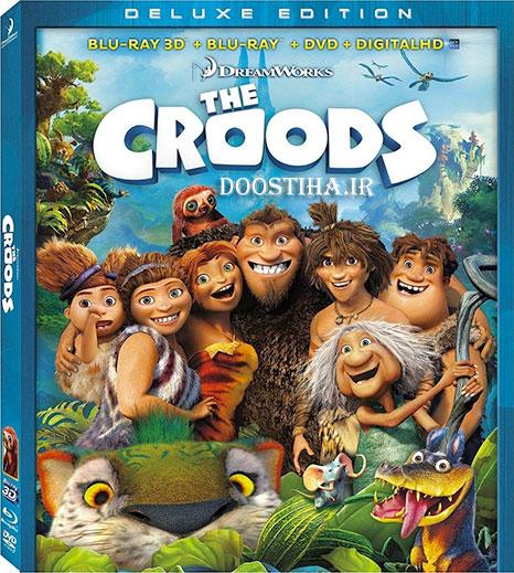 دانلود دوبله فارسی انیمیشن غارنشینان The Croods 2013