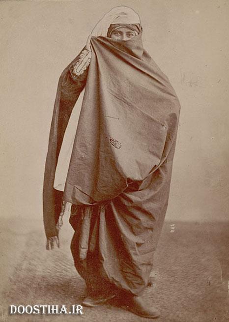 زن محجبه در عصر قاجار