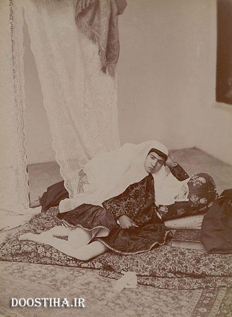 دختر یک شاهزاده عصر قاجار