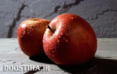 درمان اسهال با مصرف سیب