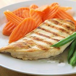 گوشت مرغ و ماهی
