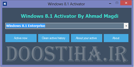 Windows 8.1 Activator By Ahmad Magdi