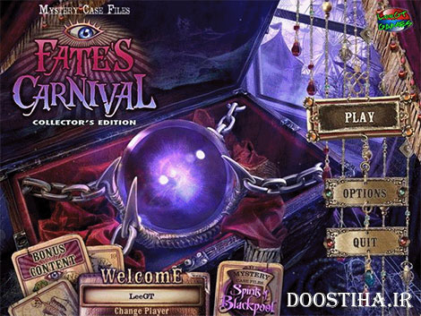 دانلود بازی زیبای Mystery Case Files 10: Fate's Carnival Collector's Edition