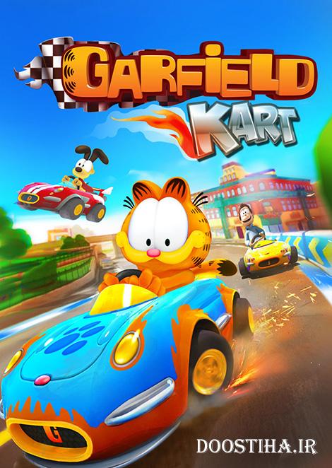 دانلود بازی Garfield Kart برای PC