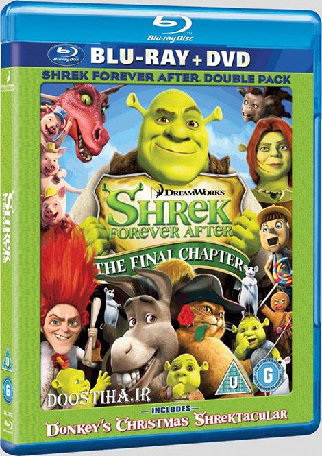 دانلود انیمیشن شرک 4 با دوبله فارسی Shrek Forever After 2010