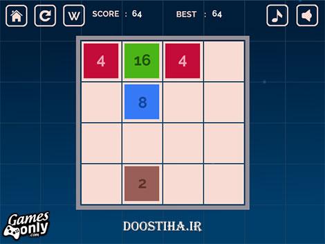 بازی فلش 2048 برای کامپیوتر