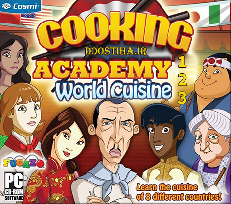Cooking Academy Triple Pack