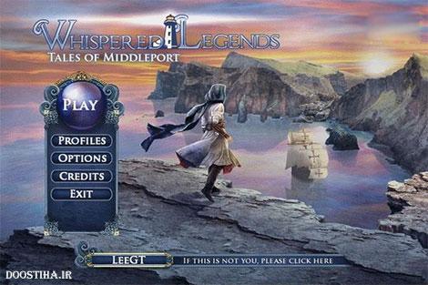 Whispered Legends: Tales of Middleport Final