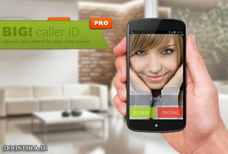 BIG! Full Screen Caller ID Pro