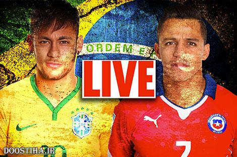 دانلود بازی برزیل و شیلی در جام جهانی 2014