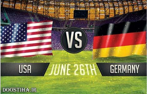 دانلود بازی آمریکا و آلمان در جام جهانی 2014