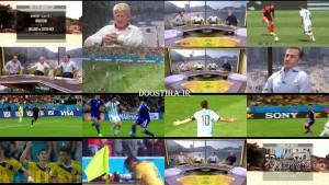 حواشی بعد از مسابقه آرژانتین و بلژیک در جام جهانی 2014