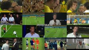 دانلود حواشی بعد از مسابقه فوتبال آلمان و برزیل