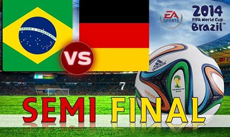 دانلود مسابقه فوتبال برزیل و آلمان در جام جهانی 2014