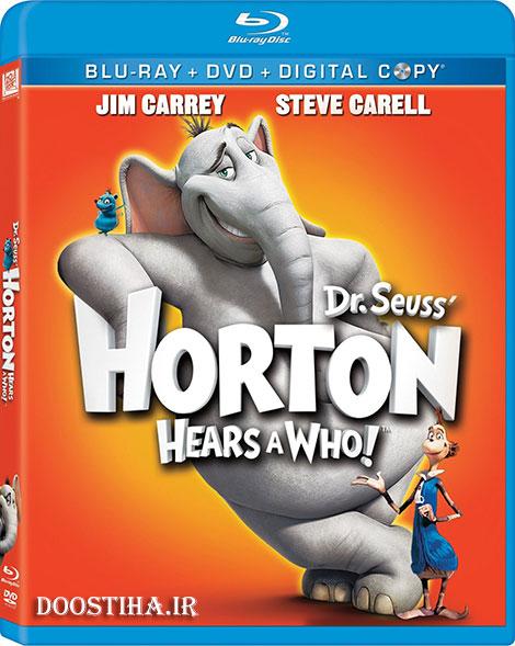 دانلود انیمیشن هورتون با دوبله فارسی Horton Hears a Who! 2008