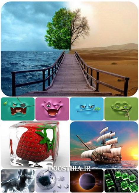 دانلود تصاویر گرافیکی و سه بعدی 3D Graphic Wallpapers