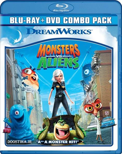 دانلود دوبله فارسی انیمیشن Monster vs Aliens 2009