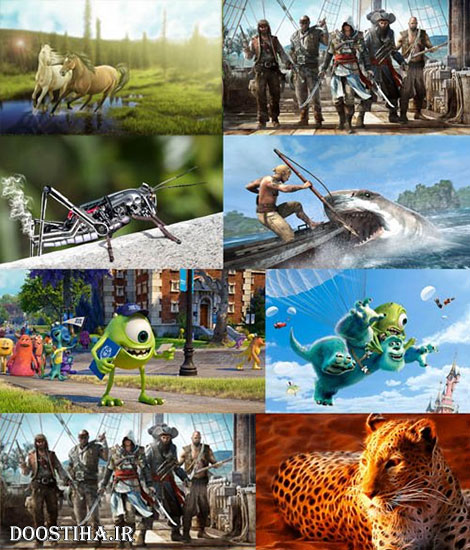 Wallpaper Collection of 3D Graphics