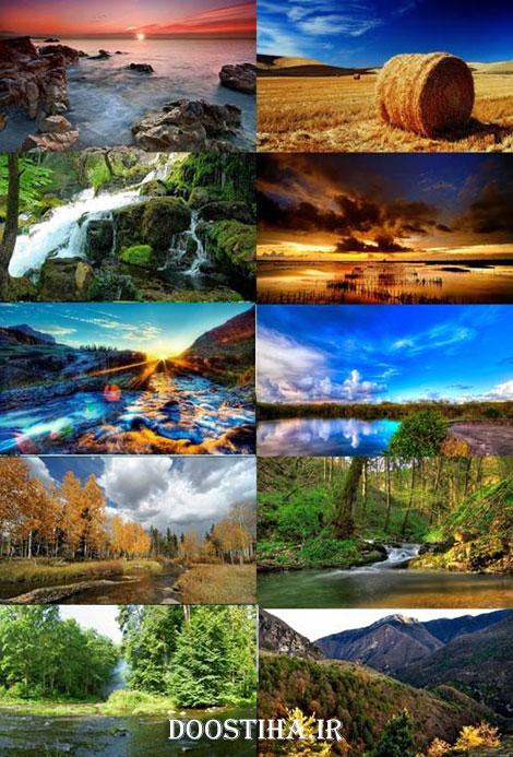 دانلود والپیپر طبیعت برای دسکتاپ Nature Wallpapers