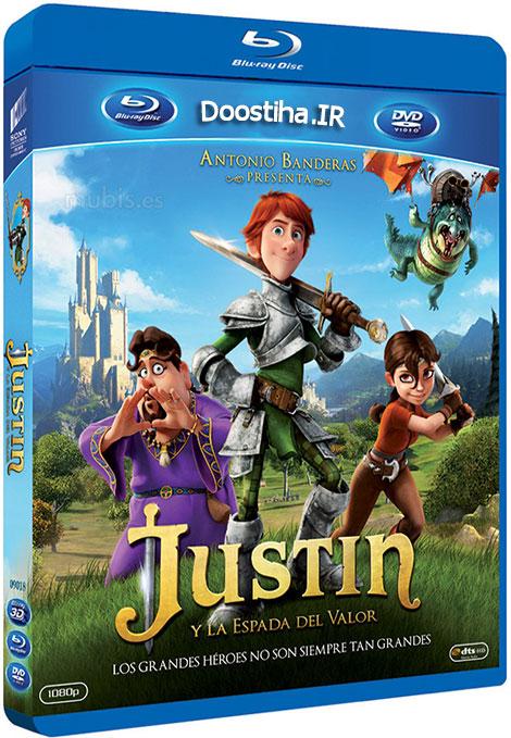 دانلود دوبله گلوری انیمیشن Justin and the Knights of Valour 2013