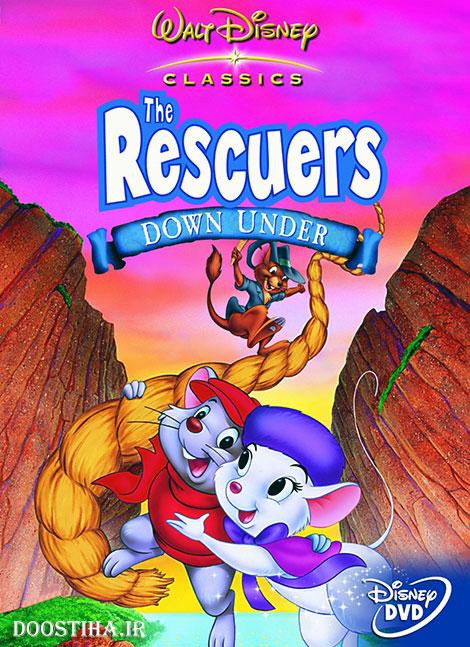 دانلود انیمیشن The Rescuers Down Under 1990