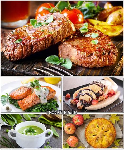 دانلود عکس های خوشمزه از انواع خوردنی Foods Wallpapers