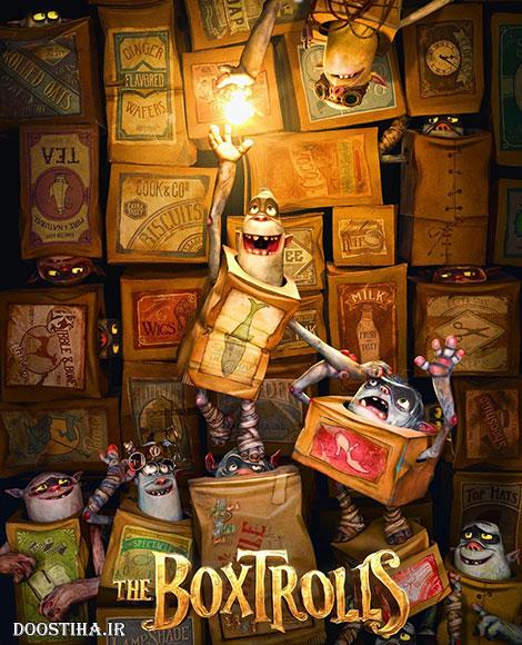 دانلود انیمیشن عروسک های جعبه ای The Boxtrolls 2014