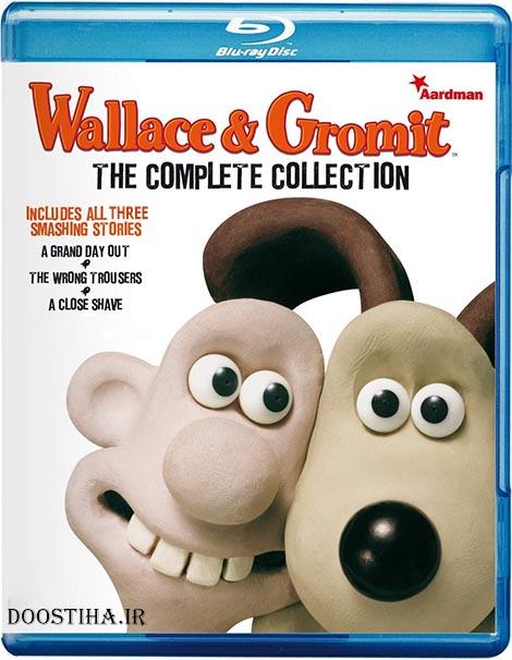 دانلود انیمیشن سه گانه والاس و گرومیت Wallace & Gromit