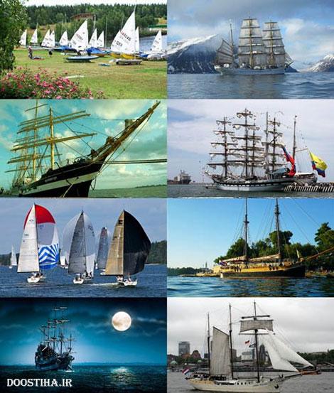 دانلود والپیپر کشتی و دریا Wallpapers of Ships