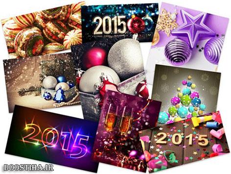 دانلود عکس های جشن و والپیپرهای براق مخصوص کریسمس Shiny Christmas HD Wallpapers