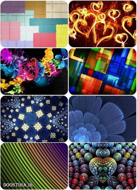 والپیپرهای انتزاعی و بسیار زیبا Abstract Wallpapers HD