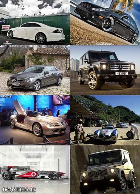 عکس ماشین بنز با کیفیت بالا، والپیپر اتومبیل و خودروهای مدرن