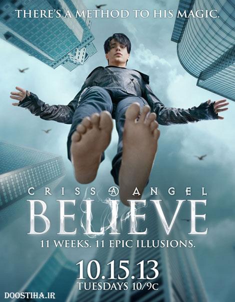 دانلود شعبده بازی های کریس آنجل Criss Angel BeLIEve 2013