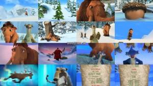 دانلود دوبله فارسی انیمیشن Ice Age: A Mammoth Christmas 2011