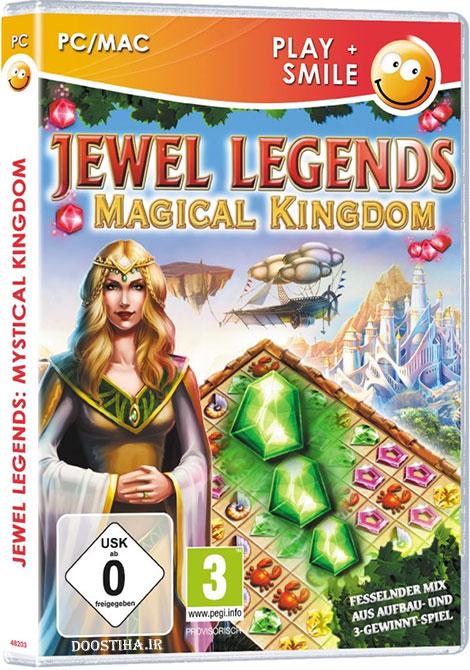 دانلود بازی Jewel Legends 3 Magical Kingdom