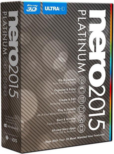 Nero 2015 Platinum 16.0.04200 Final Retail