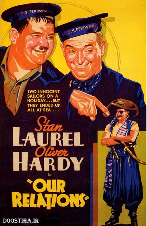 دانلود رایگان فیلم کمدی روابط ما با کیفیت عالی Our Relations 1936