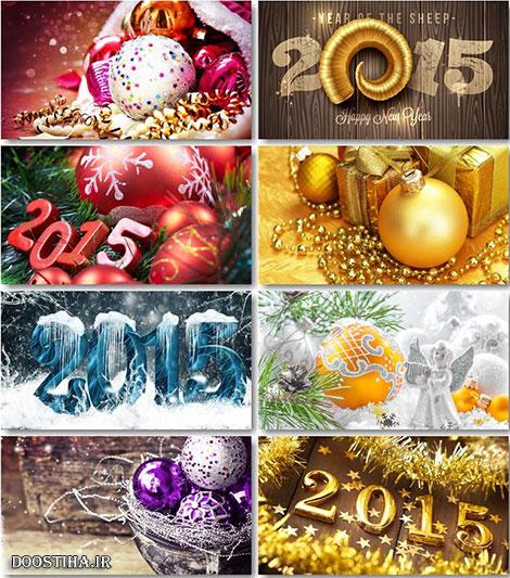 دانلود والپیپر کریمس Shiny Christmas HD Wallpapers 2015