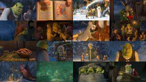 دانلود کارتون مهمانی شرک با دوبله فارسی Shrek the Halls 2007