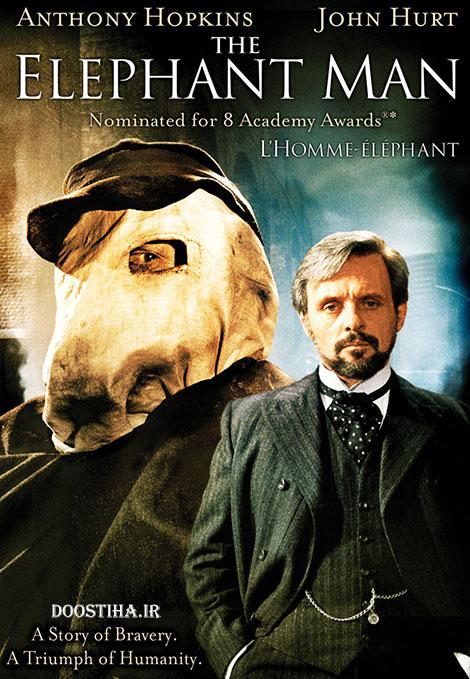 دانلود فیلم مرد فیلنما با دوبله فارسی The Elephant Man 1980