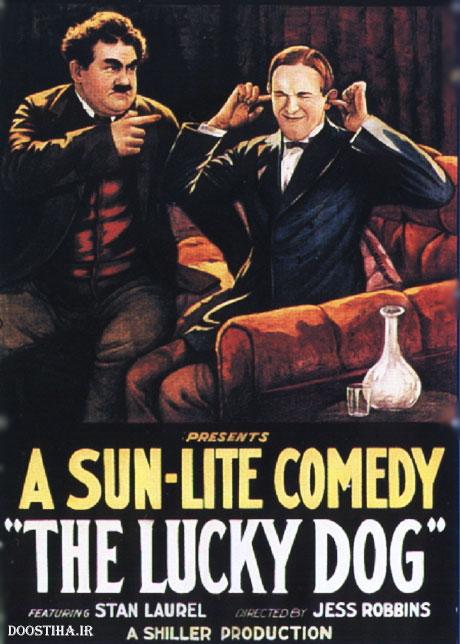 دانلود رایگان فیلم کمدی سگ خوشبخت با کیفیت عالی The Lucky Dog 1921