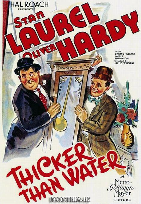 دانلود دوبله فارسی فیلم Thicker Than Water 1935