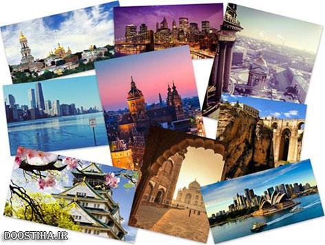 پوستر و عکس شهرهای بزرگ جهان Amazing Cityscapes Wallpapers