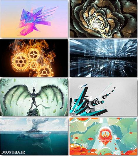 عکس های آبستره و والپیپر انتزاعی Abstract Wallpapers HD