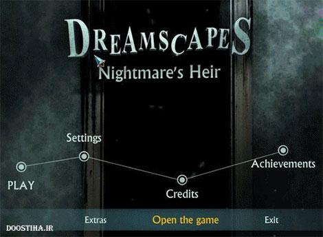 دانلود بازی فکری Dreamscapes 2: Nightmare's Heir Collectors Edition